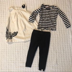 Burt's Bees Organic Cotton Outfit